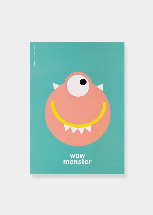 WOW MONSTER_ 8 square note